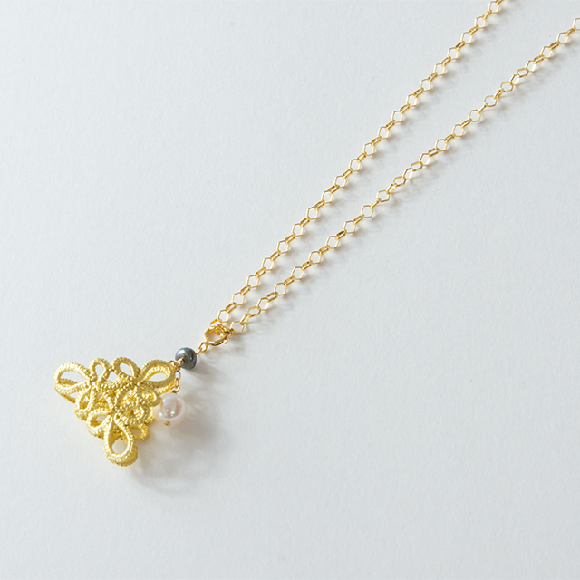金箔|フラジオレット(あこや真珠)
