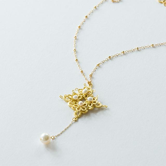 金箔|アラベスクフラワー(あこや真珠)