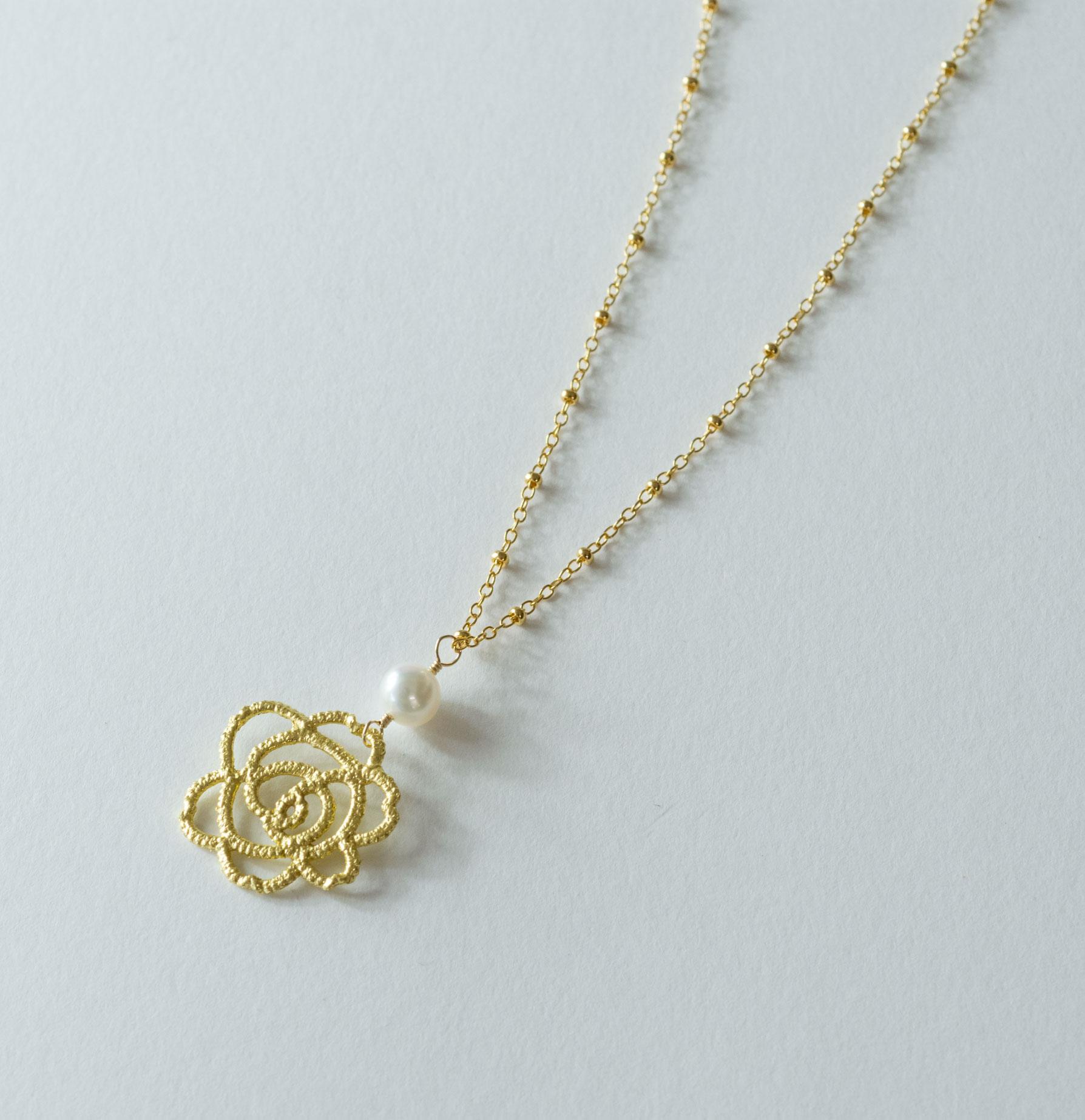 金箔|エーデルサークル(淡水真珠・上)